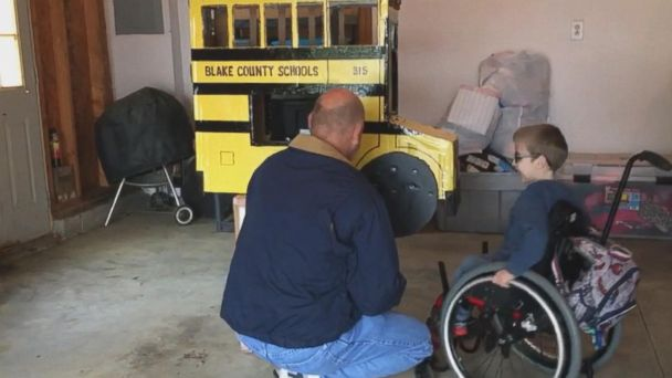 Family, friends help children in wheelchairs rock Halloween in style