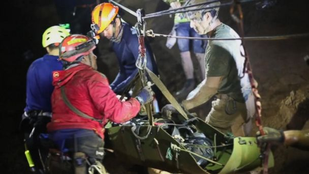 Book to reveal new details about Thai boys' harrowing rescue from cave