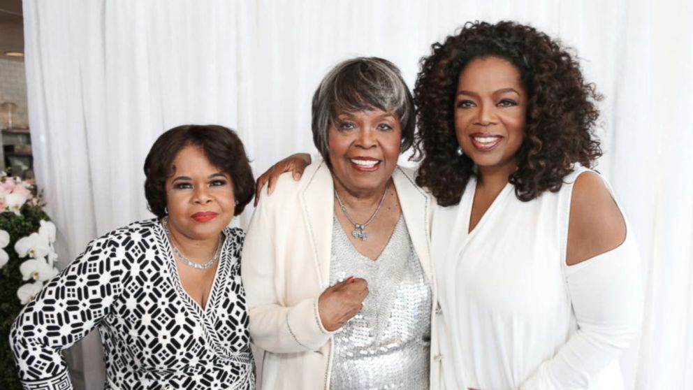 Oprah Winfrey on her mother's death: She 'is now at peace