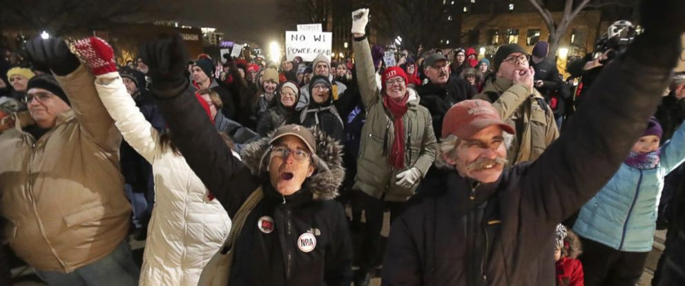 VIDEO: Wisconsin GOP takes aim at newly-elected Democratic governor