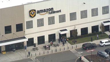 Dozens injured inside Amazon warehouse after robot mishap