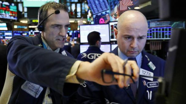 Dow recovers after plunging more than 600 points