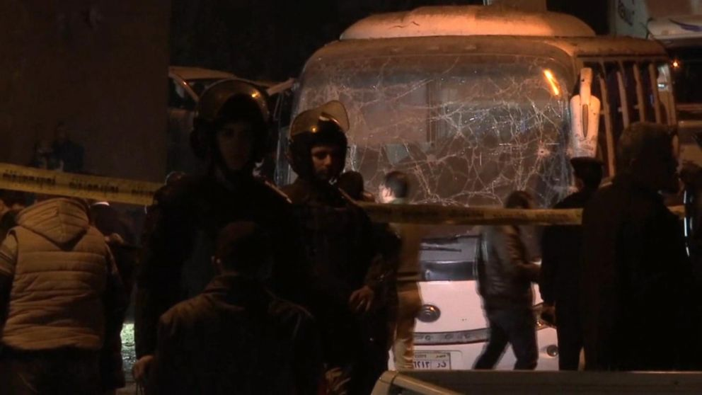 Terror crackdown in Egypt following deadly tourist attack in Cairo