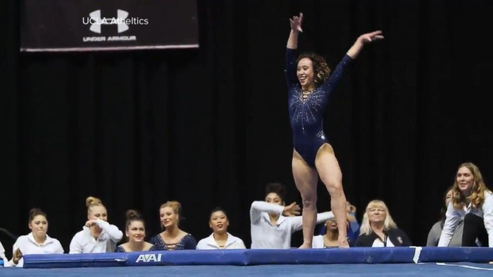 UCLA gymnast entertains and wows with
