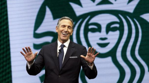 Former Starbucks CEO considering 2020 presidential run?