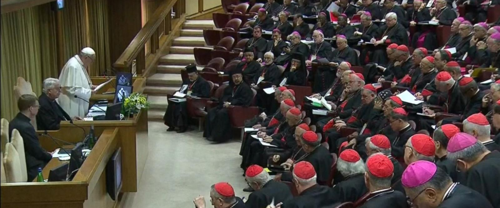 VIDEO: Historic summit held at the Vatican by the pope