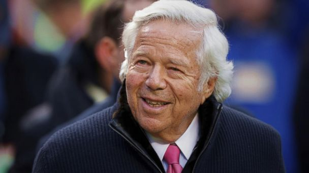 Patriots owner on video allegedly paying for sex acts: Authorities