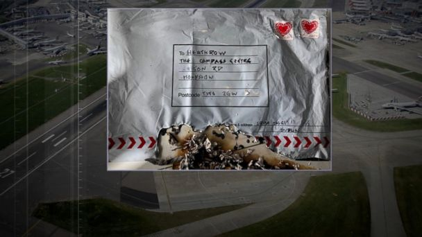 Bombs apparently mailed from Ireland company: London authorities