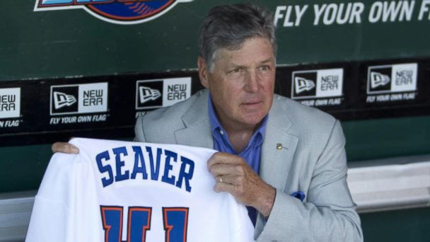 Family of Hall of Fame pitcher Tom Seaver reveals his dementia diagnosis