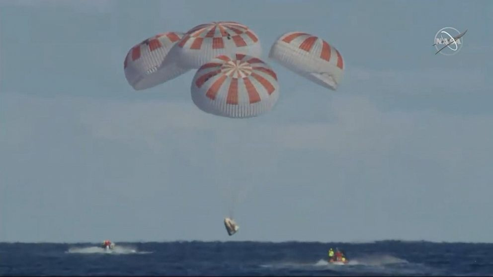 'Dragon' makes successful round-trip visit to International Space Station