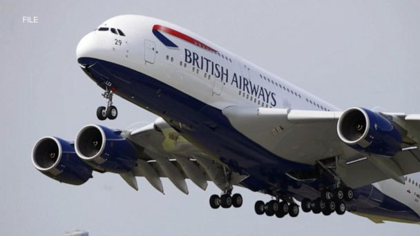 British Airways flight touches down in the wrong city