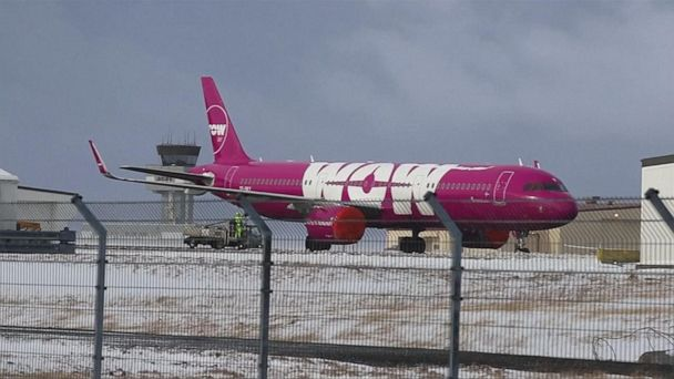 Chaos at airports after budget airline WOW Air closes abruptly