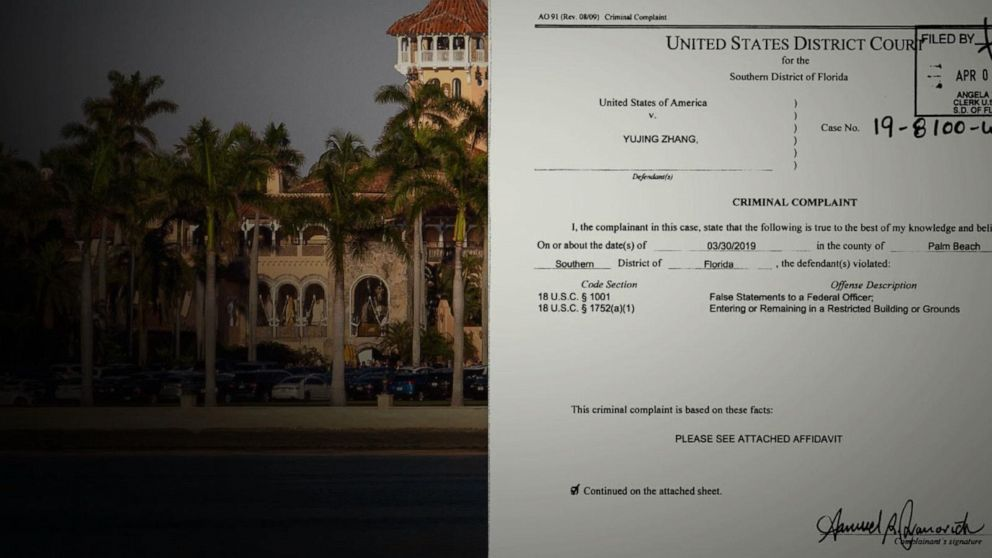 After odd hearing, trial date moved for alleged Mar-a-Lago trespasser Yujing Zhang