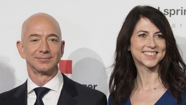 Jeff Bezos and wife reach record $137 billion divorce settlement