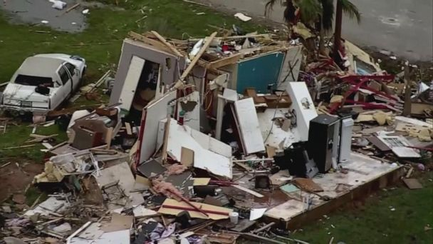 Deadly tornadoes strike the south, killing at least 8 people