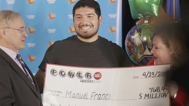 Meet America's newest Powerball winner