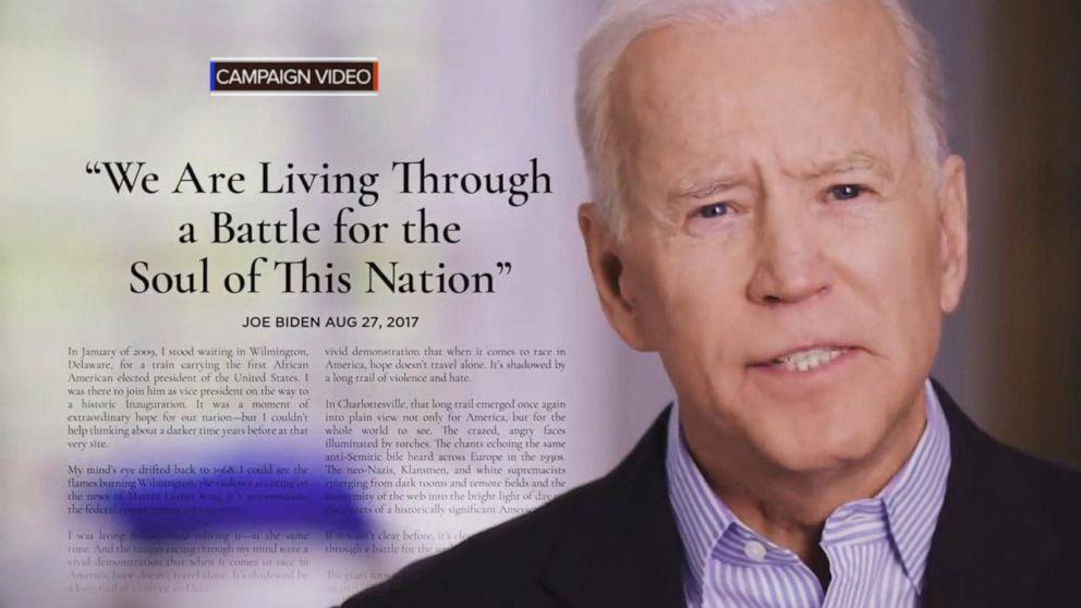 Joe Biden announces 2020 presidential bid