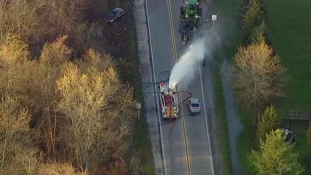 Toxic cloud in Illinois injures several people