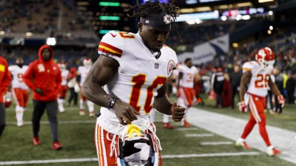NFL wide receiver Tyreek Hill under fire for alleged child abuse
