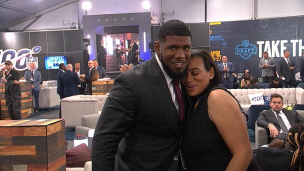 Meet the parents behind the new NFL Draft class