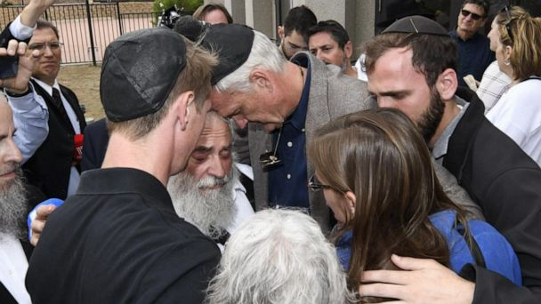 Suspect in synagogue shooting charged with one count of murder