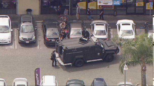 Hostage scare in Los Angeles