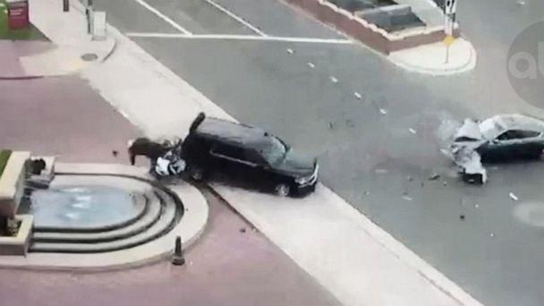 Mayor of Inglewood involved in violent crash