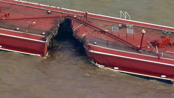 A chemical cleanup is underway after a toxic spill in the Houston ship channel