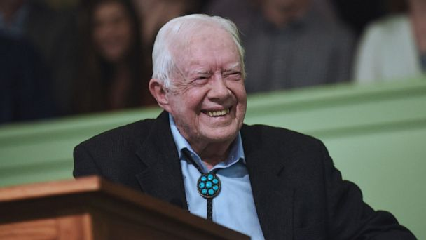 Jimmy Carter out of the hospital