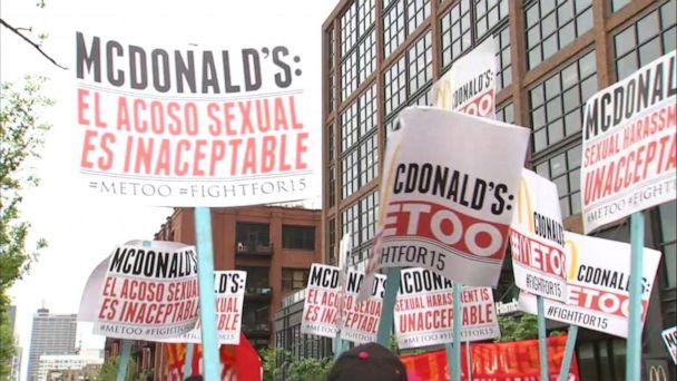McDonald's faces more than 2 dozen sexual harassment complaints, lawsuits