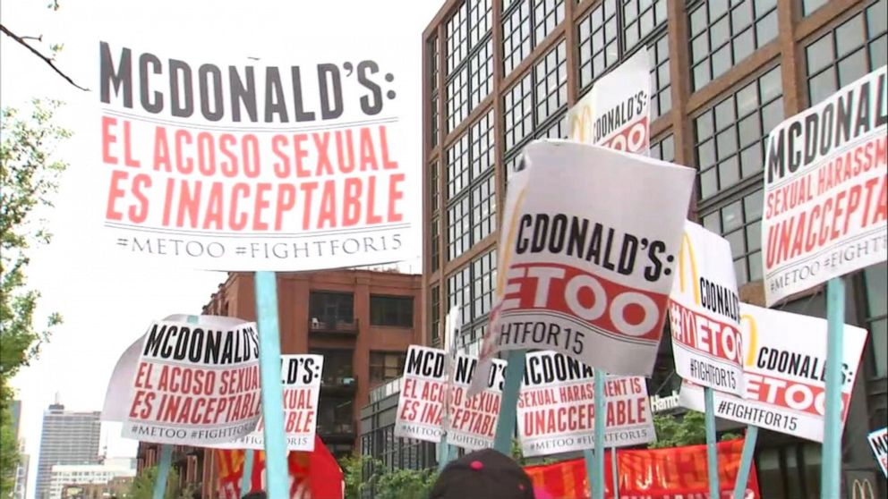 McDonald's faces more than 2 dozen sexual harassment complaints, lawsuits