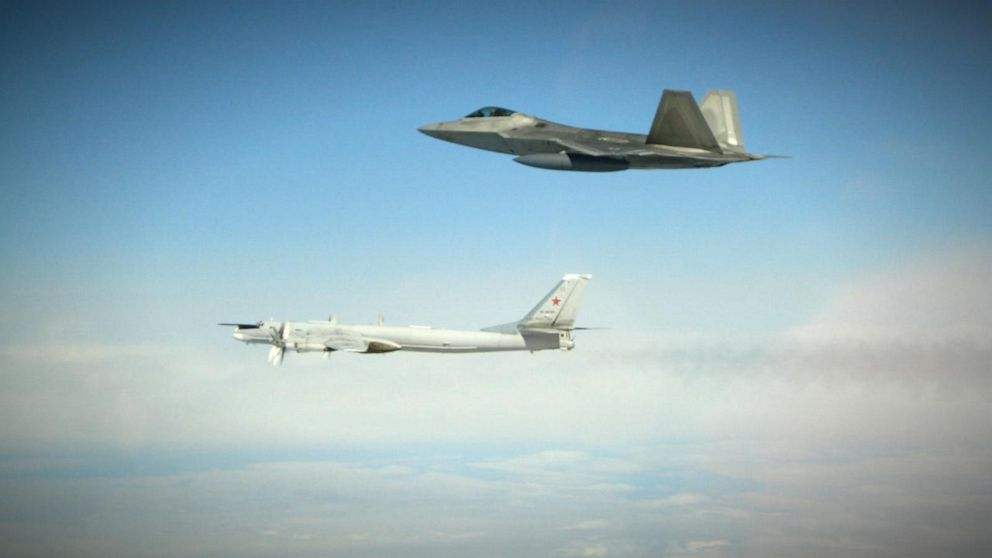 Russian bombers, fighter jets intercepted by US military near Alaska