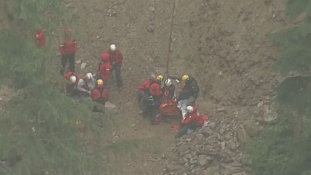 US children, ages 6 and 7, stranded on Canadian mountain overnight
