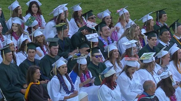 Students who lost nearly everything in California's Camp Fire graduate from high school