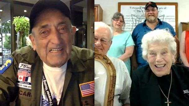 World War II veteran meets family of friend who died on D-Day