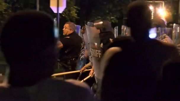Protests over Memphis police shooting turn violent