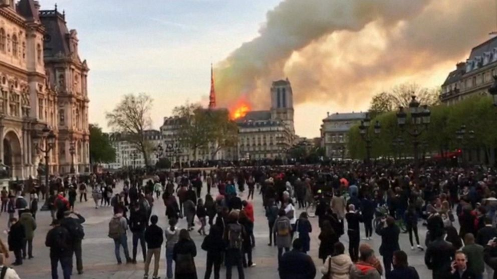Notre Dame Cathedral has first mass since fire two months ago