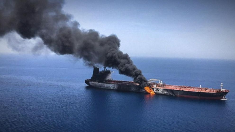 US, Iran conflict hardening over attacks on 2 tanker ships