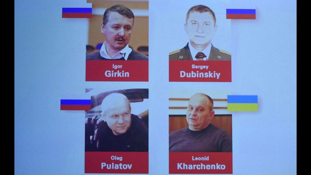 4 charged in shooting down of flight MH17 over eastern Ukraine