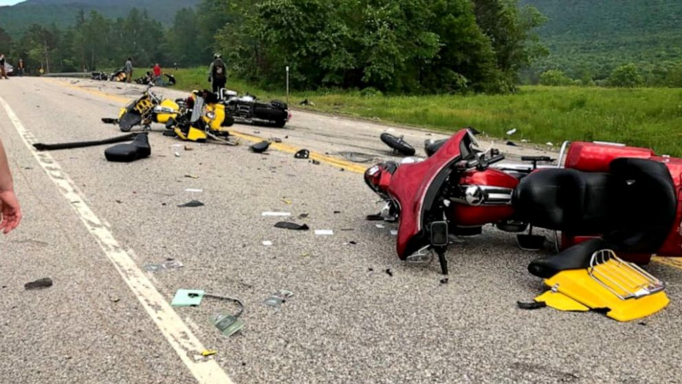 Deadly motorcycle crash in northern New Hampshire