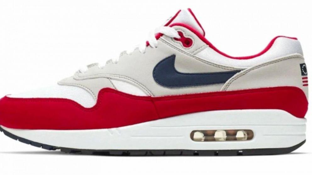 Nike yanks Betsy Ross flag sneaker