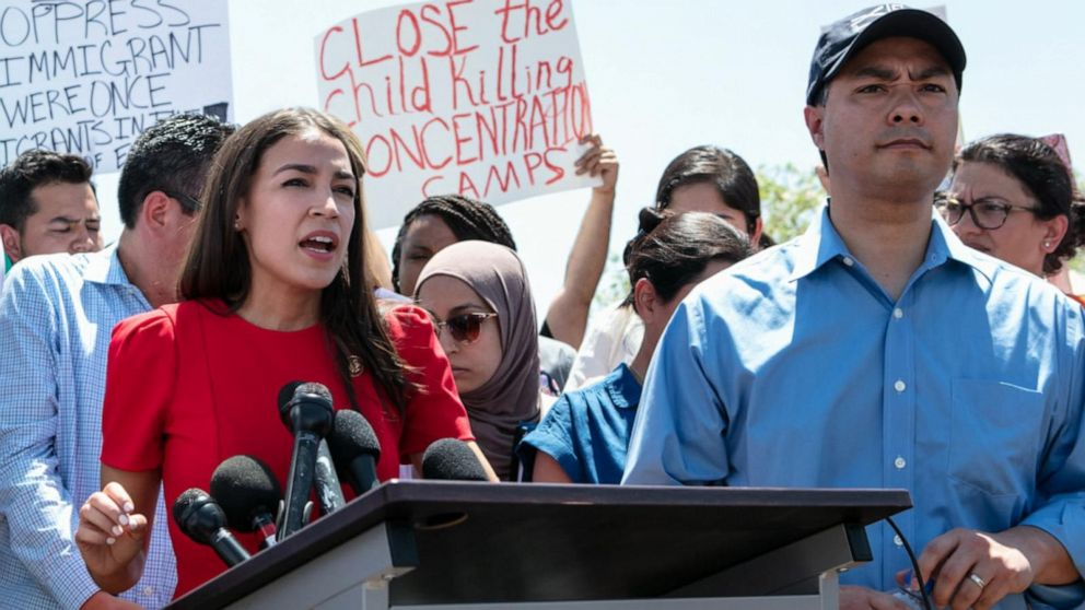 Protesters demand the closure of immigrant detention centers