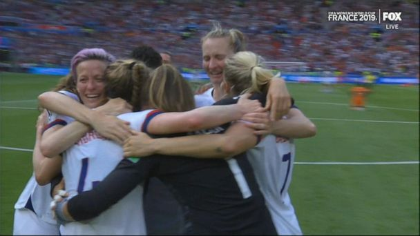 US women's soccer team bring home record 4th World Cup win