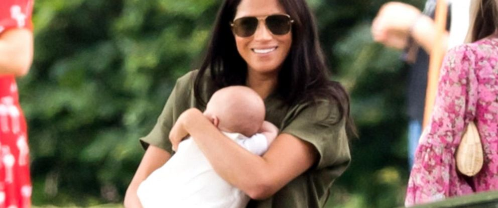 VIDEO: Duchess Meghan and baby Archie make surprise appearance at polo match