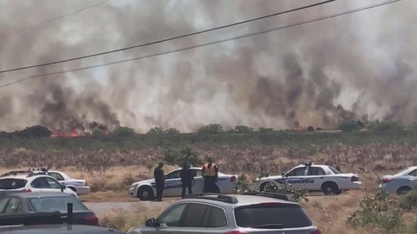 Residents on high alert as brush fire burns on island of Maui