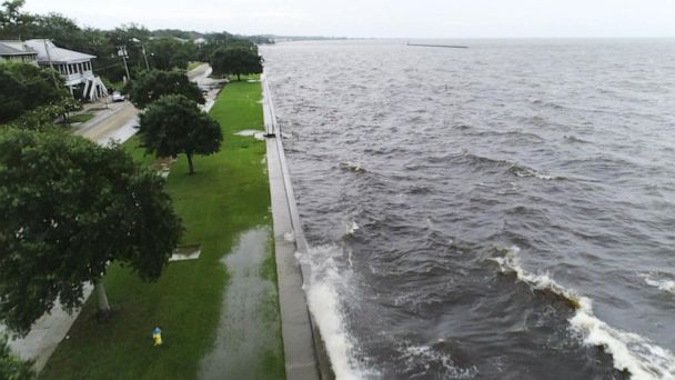 Hurricane that hit Louisiana dumping rain on parts of the US