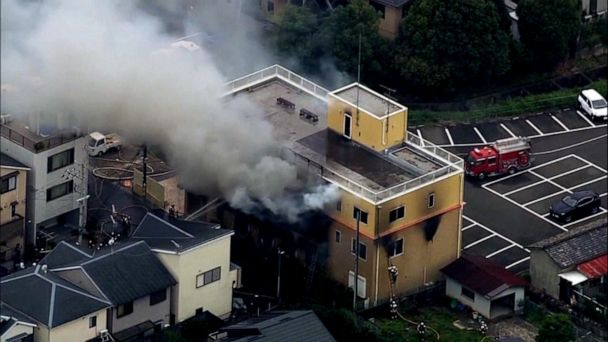 Suspect in custody after arson attack at major studio that killed at least 33