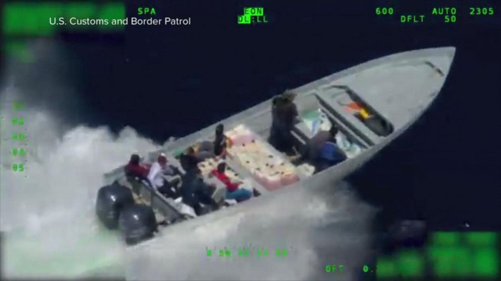 Coast Guard releases video of drug bust in Pacific Ocean