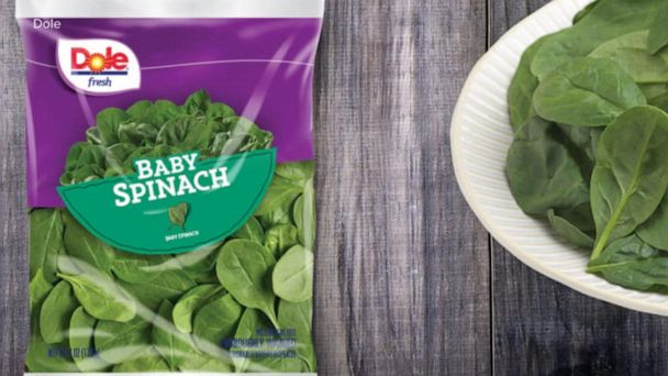 Dole baby spinach recalled over possible Salmonella contamination