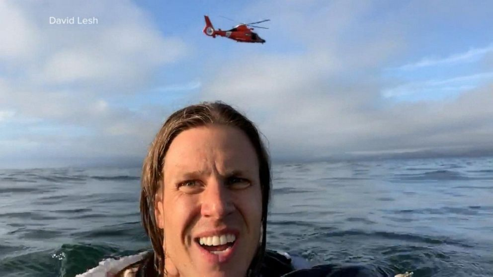 Pilot, passenger record plane crash and rescue from Pacific Ocean